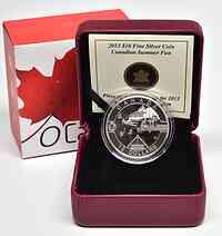 Kanada : 10 Dollar O Canada - Sommer - im Etui  2013 PP
