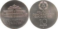 DDR : 10 Mark Semper - Oper Dresden  1985 Stgl.
