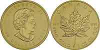Kanada : 50 Dollar Maple Leaf 1 Unze Feingold div Stgl.