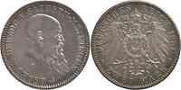 Deutschland : 2 Mark Georg II. geputzt 1901 ss/vz.