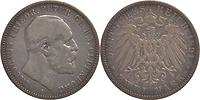 Deutschland : 2 Mark Nicolaus Friedrich Peter  1891 s/ss.