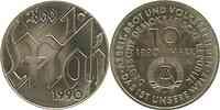 DDR : 10 Mark 1. Mai  1990 Stgl.