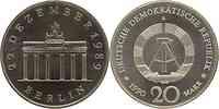 DDR : 20 Mark Brandenburger Tor 1990 Stgl.
