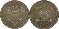 Deutschland : 2 Mark   1901 vz/Stgl.