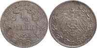 Deutschland : 1/2 Mark   1912 ss.