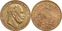 Deutschland : 10 Mark Wilhelm I. 1873 ss/vz.