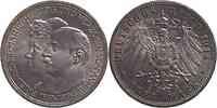 Deutschland : 3 Mark Friedrich II. u. Marie 1914 Stgl.