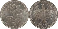 Deutschland : 10 DM Sportler und Sportlerin 1972 vz/Stgl.