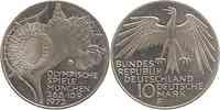Deutschland : 10 DM Stadion  1972 vz/Stgl.