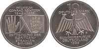 Deutschland : 10 DM Röntgen  1995 vz/Stgl.
