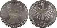 Deutschland : 5 DM Schweitzer  1975 vz/Stgl.