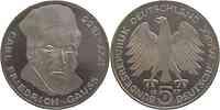 Deutschland : 5 DM Gauss  1977 vz/Stgl.