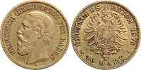 Deutschland : 10 Mark Friedrich 1875 ss.