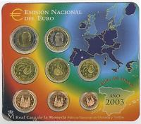 original KMS Spanien 2003 Stgl. /BU