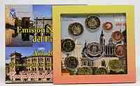 Spanien : 7,88 Euro Medaille Madrid + original Kursmünzensatz aus Spanien mit 2 Euro Gedenkmünze Burgos + Eurobargeld  2012 Stgl.