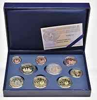 Spanien : 5,88 Euro KMS Spanien mit 2 Euro Gedenkmünze Escorial  2013 PP