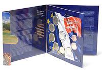 Slowakei : 3,88 Euro original KMS der Slowakei  2009 Stgl. KMS Slowakei 2009
