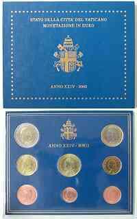 Vatikan : 3,88 Euro original Kursm�nzensatz aus dem Vatikan  2002 bfr KMS Vatikan 2002