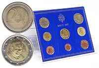 Vatikan : 3,88 Euro original Kursmünzensatz aus dem Vatikan  2007 Stgl. KMS Vatikan 2007