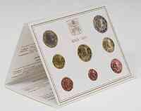 Vatikan : 3,88 Euro original Kursmünzensatz aus dem Vatikan  2009 Stgl. KMS Vatikan 2009 BU