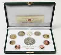 Vatikan : 3,88 Euro original Kursmünzensatz aus dem Vatikan mit Silbermedaille  2010 PP KMS Vatikan 2010 PP mit Silbermedaille