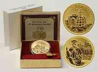 Österreich : 100 Euro Die Krone des Heiligen Römischen Reiches inkl. Originaletui und Zertifikat  2008 PP 100 Euro Kronen der Habsburger 2008