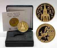 Belgien : 100 Euro 175 Jahre Dynastie inkl. Originaletui und Zertifikat  2006 PP 100 Euro Belgien 2006