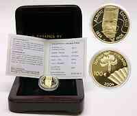 Finnland : 100 Euro Albert Edefelt inkl. Originaletui und Zertifikat  2004 PP