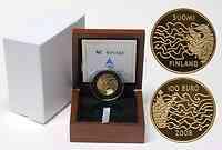 Finnland 100 Euro Finnlandkrieg 2008 PP GOLD