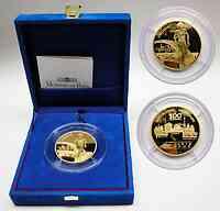 Frankreich : 100 Euro Motiv : Laufen, inkl. Originaletui und Zertifikat Auflage nur 999 Stück - 5 Unzen Gold !  2003 PP