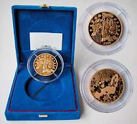 Frankreich 100 Euro Europa-Münze, 2004 PP Gold