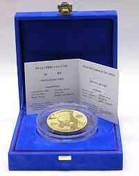 Frankreich : 100 Euro Von der Erde zum Mond, inkl. Originaletui und Zertifikat  2005 PP
