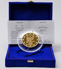 Frankreich : 100 Euro EU-Präsidentschaft inkl. Originaletui und Zertifikat  2008 PP