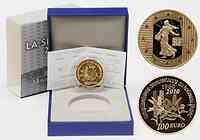 Frankreich : 100 Euro 50. Geburtstag des neuen Francs 1960 inkl. Originaletui und Zertifikat  2010 PP