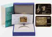 Frankreich : 100 Euro Kubismus inkl. Originaletui und Zertifikat  2010 PP