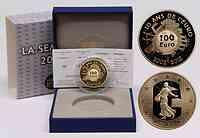 Frankreich 100 Euro 10 Jahre Euro Bargeld 2012 PP