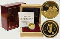 Irland : 100 Euro Shackleton und Crean inkl. Originaletui und Zertifikat 2008 PP