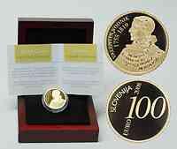 Slowenien : 100 Euro Valentin Vodnik  2008 PP 100 Euro Vodnik 2008