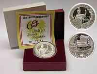 Österreich : 10 Euro 60 Jahre Zweite Republik  2005 PP