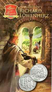 Österreich : 10 Euro Richard Löwenherz in Dürnstein 2009 Stgl.