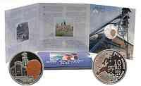 Belgien : 10 Euro Marcinelle Grubenunglück im Originalblister - Sonderausgabe farbig !  2006 PP 10 Euro Marcinelle farbig 2006 Belgien