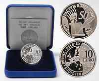 Belgien : 10 Euro Römische Verträge  2007 PP 10 Euro Römische Verträge