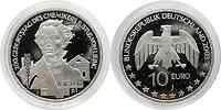 Deutschland : 10 Euro 200. Geburtstag des Chemikers Justus von Liebig in Originalkapsel  2003 PP