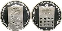 Deutschland : 10 Euro Bertha von Suttner  2005 PP