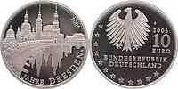 Deutschland : 10 Euro 800 Jahre Dresden  2006 PP 10 Euro Dresden