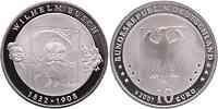 Deutschland 10 Euro 175. Geburtstag Wilhelm Busch 2007 PP