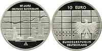 Deutschland : 10 Euro 50 Jahre Bundesbank in Originalkapsel  2007 PP
