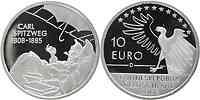 Deutschland 10 Euro 200. Geburtstag Spitzweg 2008 PP