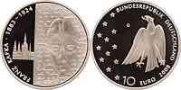 Deutschland : 10 Euro 125. Geburtstag Franz Kafka in Originalkapsel  2008 PP