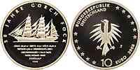 Deutschland : 10 Euro 50 Jahre Gorch Fock  2008 PP 10 Euro Gorch Fock